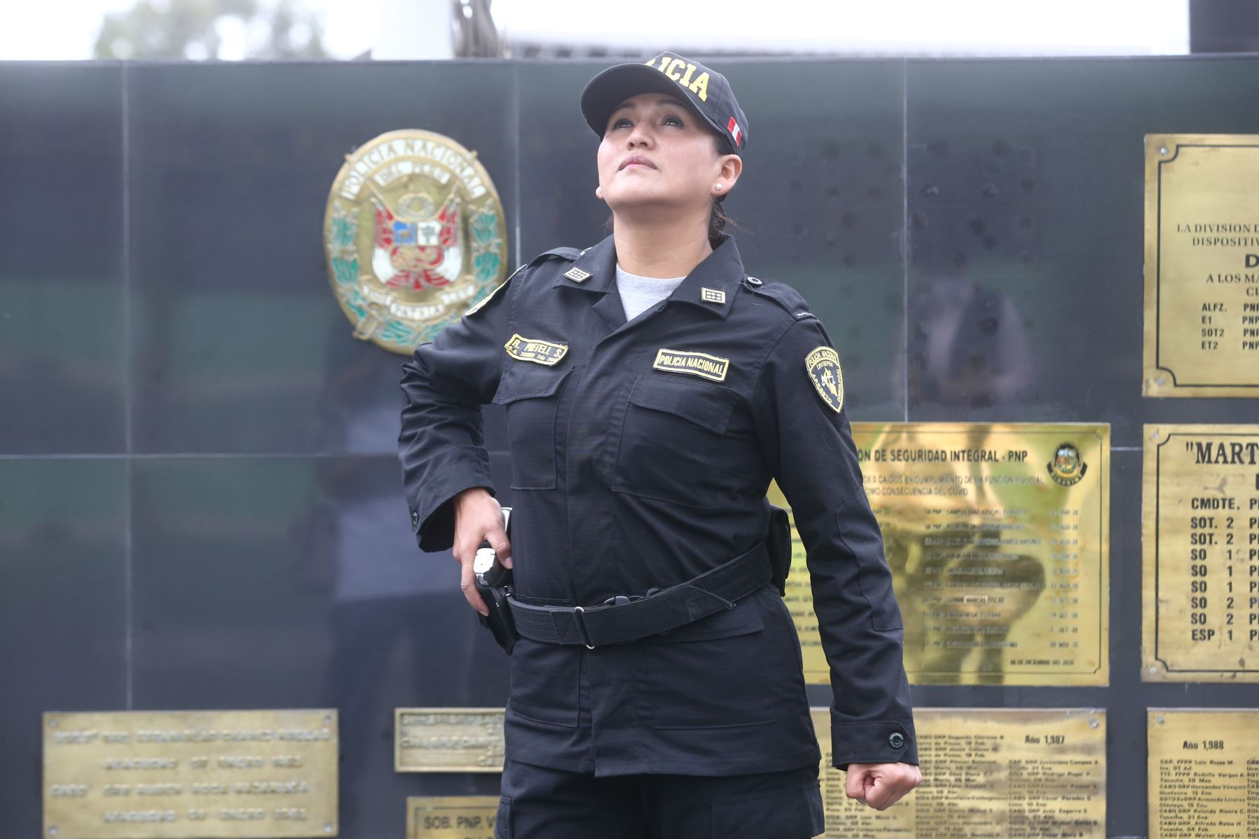 Rosa Maria Pretell, psicóloga técnica segunda del Centro Policial del Rimac. Foto: ANDINA/ Vidal Tarqui