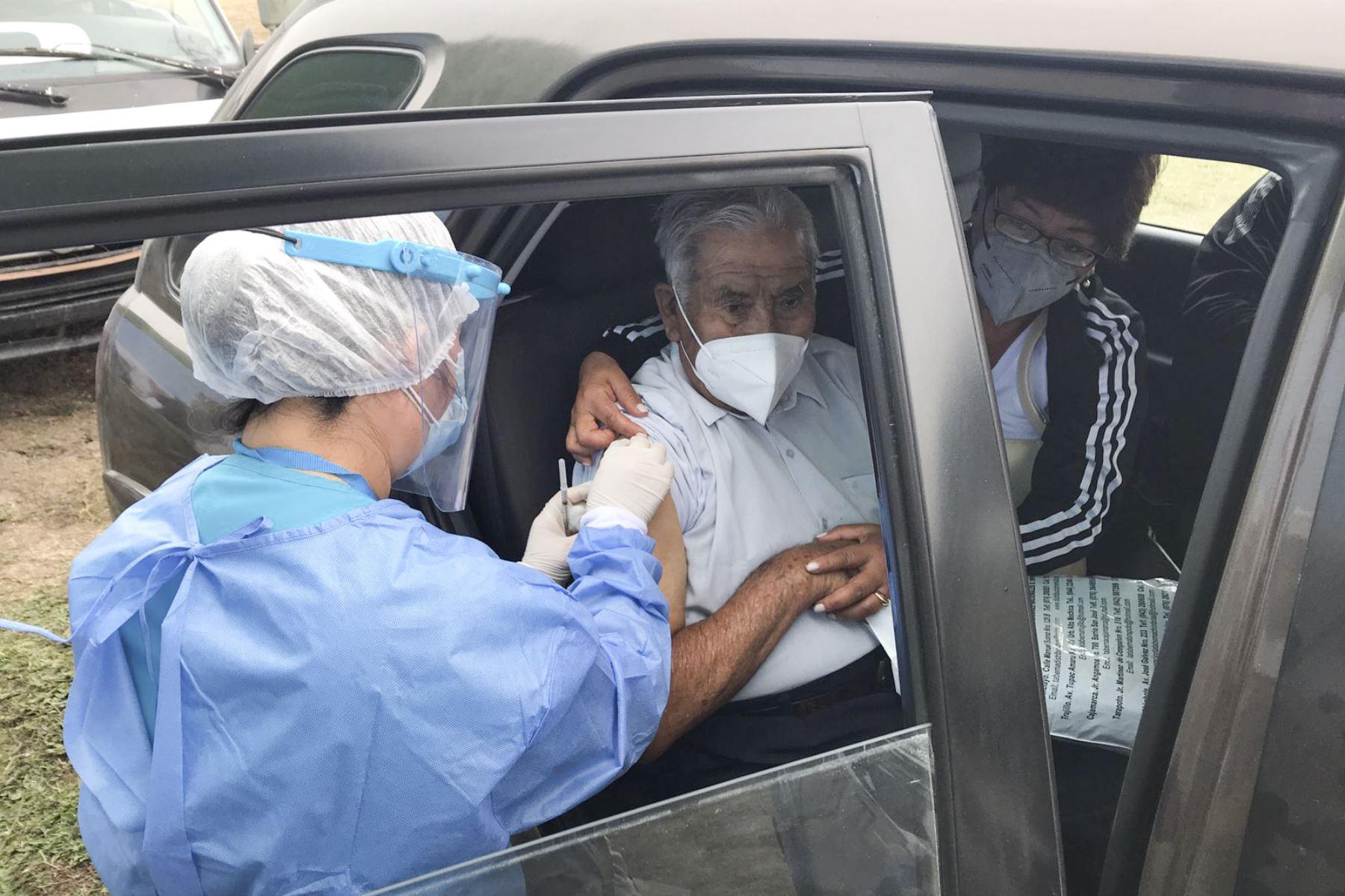 La Gerencia Regional de Salud Lambayeque coordina nuevos puntos de vacunación contra la covid-19. Foto: ANDINA/Difusión