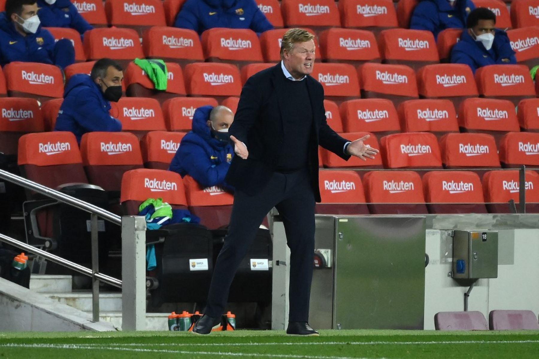 Koeman confía en que el Barcelona logrará el título de España