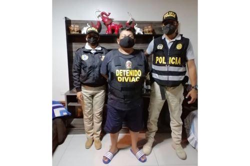 PNP captura a integrantes de organización criminal dedicada al robo de vehículos y extorsión en Lima