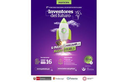 """Indecopi lanza Concurso Nacional de Inventos Escolares """"Inventores del Futuro"""""""