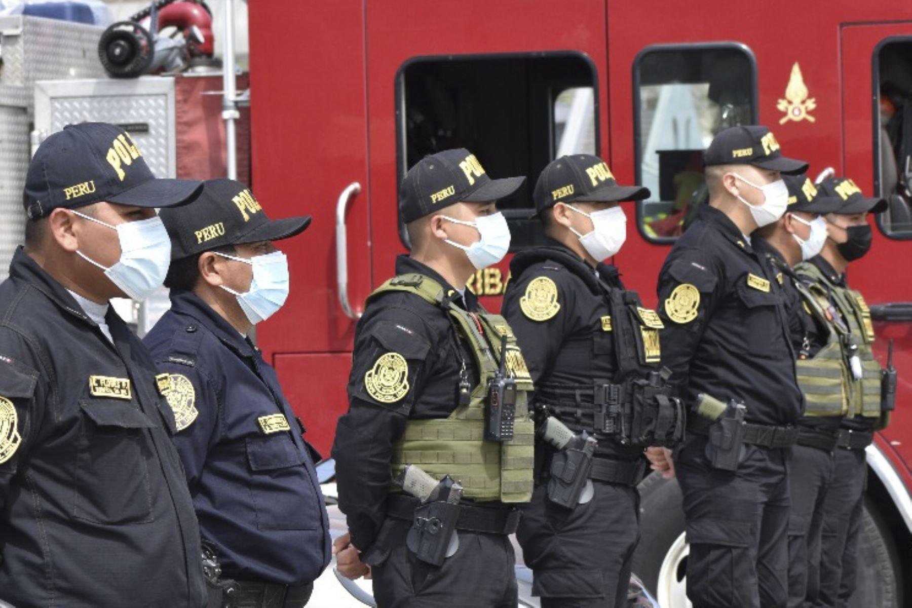 Fiestas Patrias: más de 106,000 policías brindarán seguridad a nivel nacional