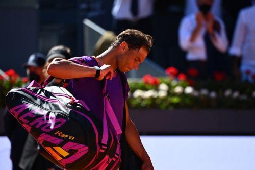 Rafael Nadal tropezó en Madrid