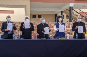 Organizaciones religiosas y civiles pidieron a candidatos diversos compromisos. Foto: CEP