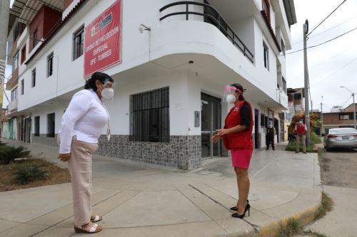 Ministra de la Mujer supervisa la Unidad de Protección Especial de Tumbes