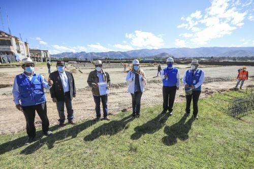Essalud anunció construcción del Hospital Modular de Jauja y pone en marcha dos plantas oxígeno en Junín