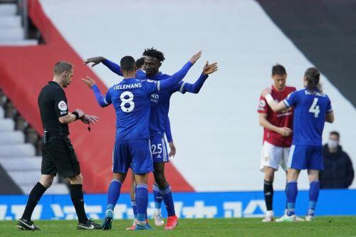 Leicester City derrotó 2 a 1 al Manchester United por la Premier League