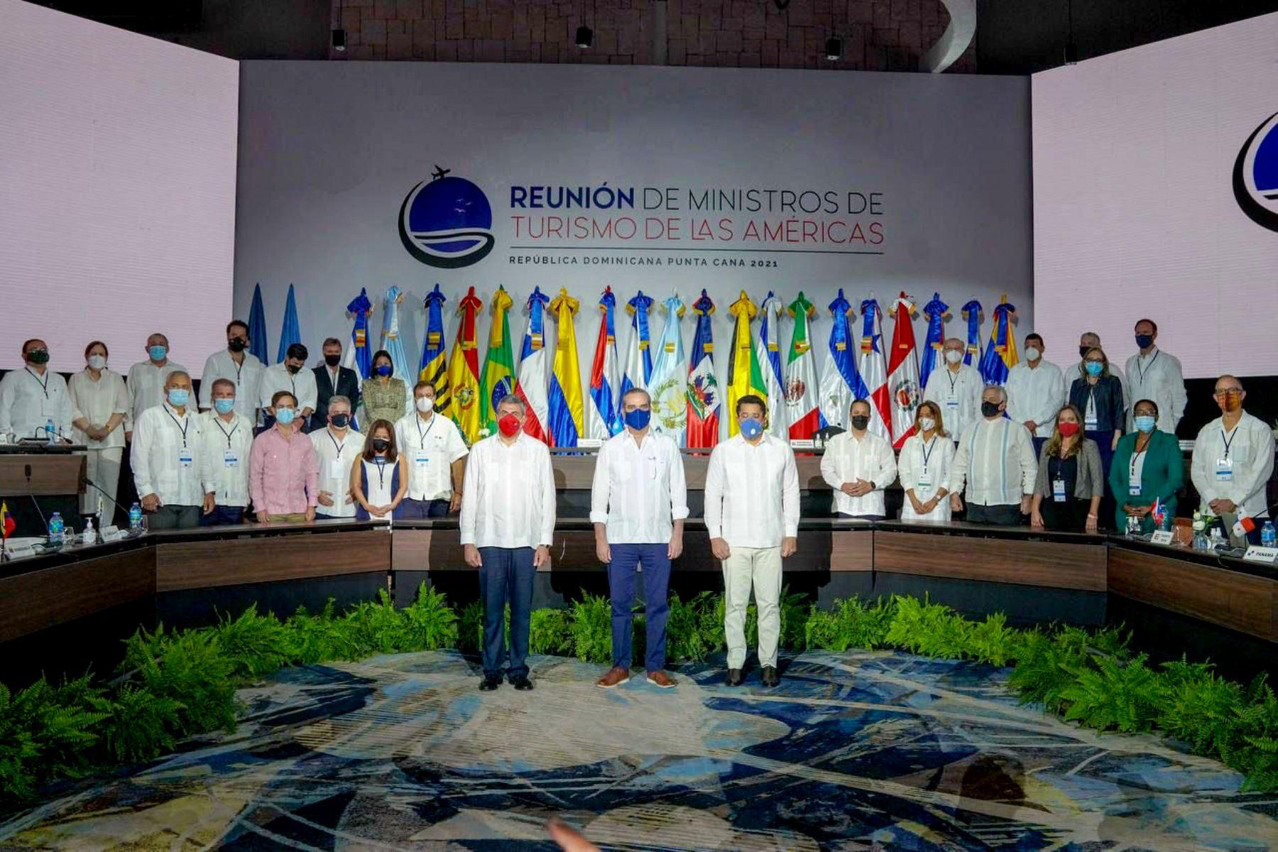 Los líderes de turismo en las Américas se comprometieron a reactivar el turismo de manera conjunta. Foto: Difusión