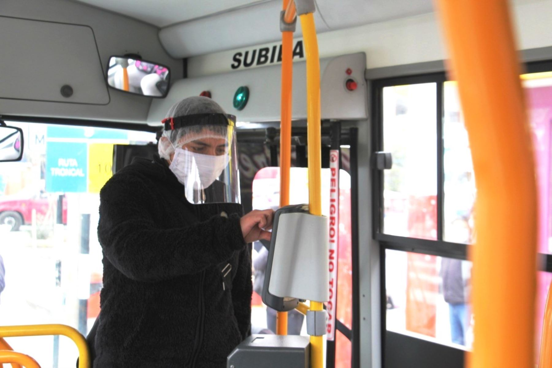 Carné universitario se usará como medio de pago sin contacto en el transporte público. Foto: ANDINA/Difusión.