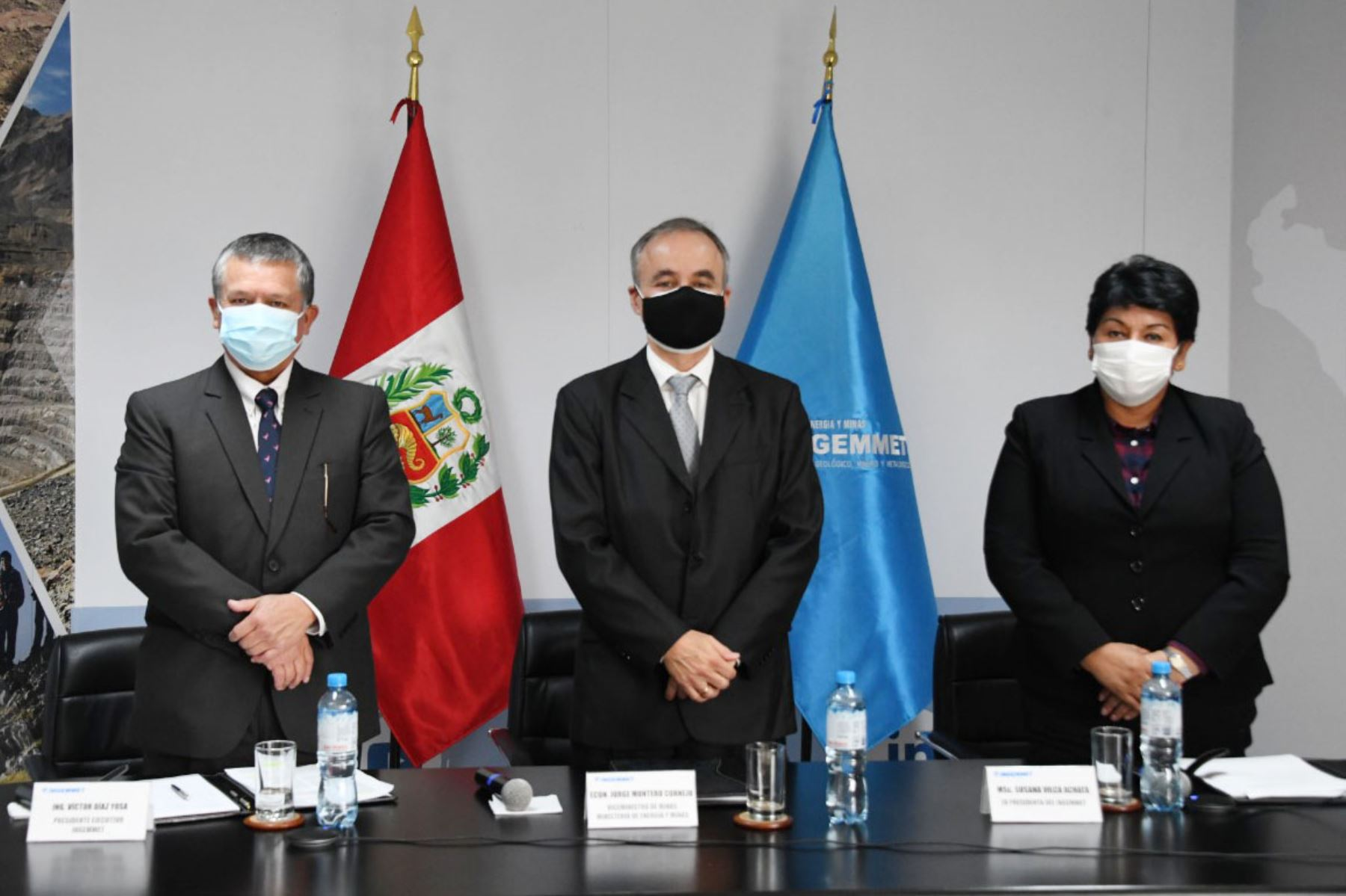 Víctor Manuel Díaz Yosa asumió la presidencia del Consejo Directivo del Instituto Geológico, Minero y Metalúrgico. Foto: ANDINA/Ingemmet.