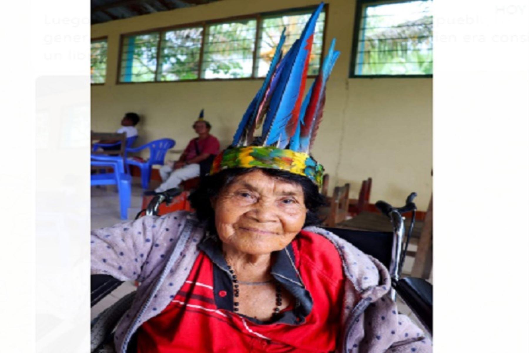 Andrea era considerada un libro viviente para sus hermanos indígenas, así como para historiadores, periodistas, antropólogos y otros estudiosos que recurrían a ella para reconstruir la historia del pueblo harakbut.