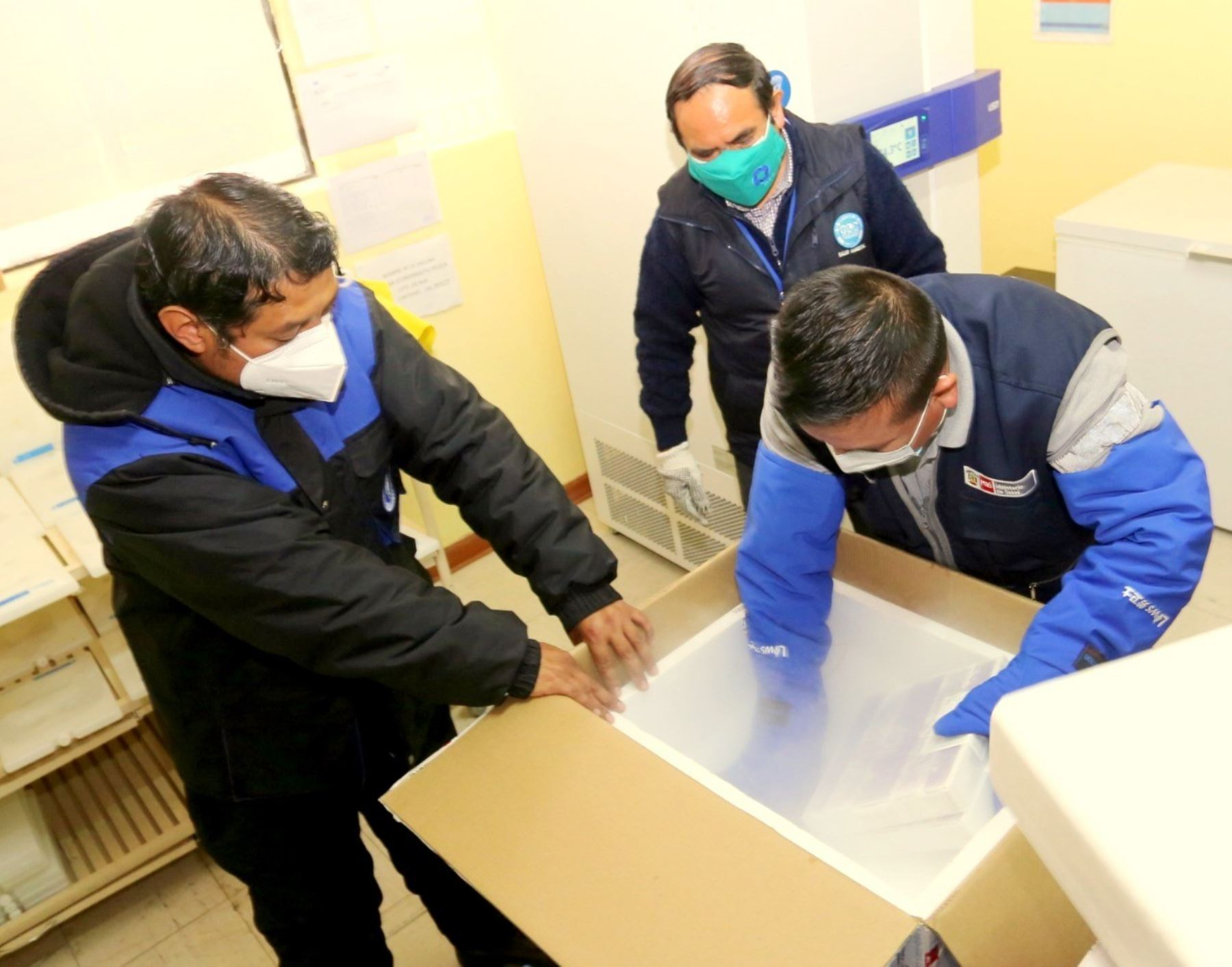 Cajamarca recibe lote con más de 25,000 vacunas Pfizer que se destinarán para inocular a los adultos mayores de las 13 provincias de la región.