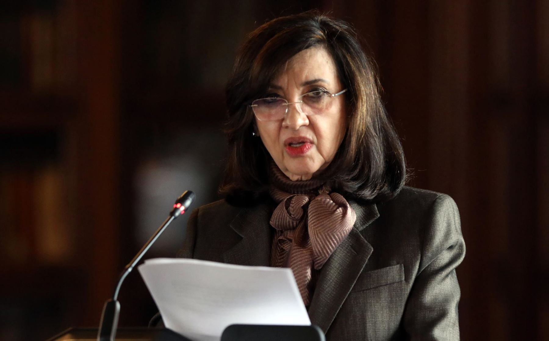 Claudia Blum, canciller de Colombia, presentó renuncia irrevocable