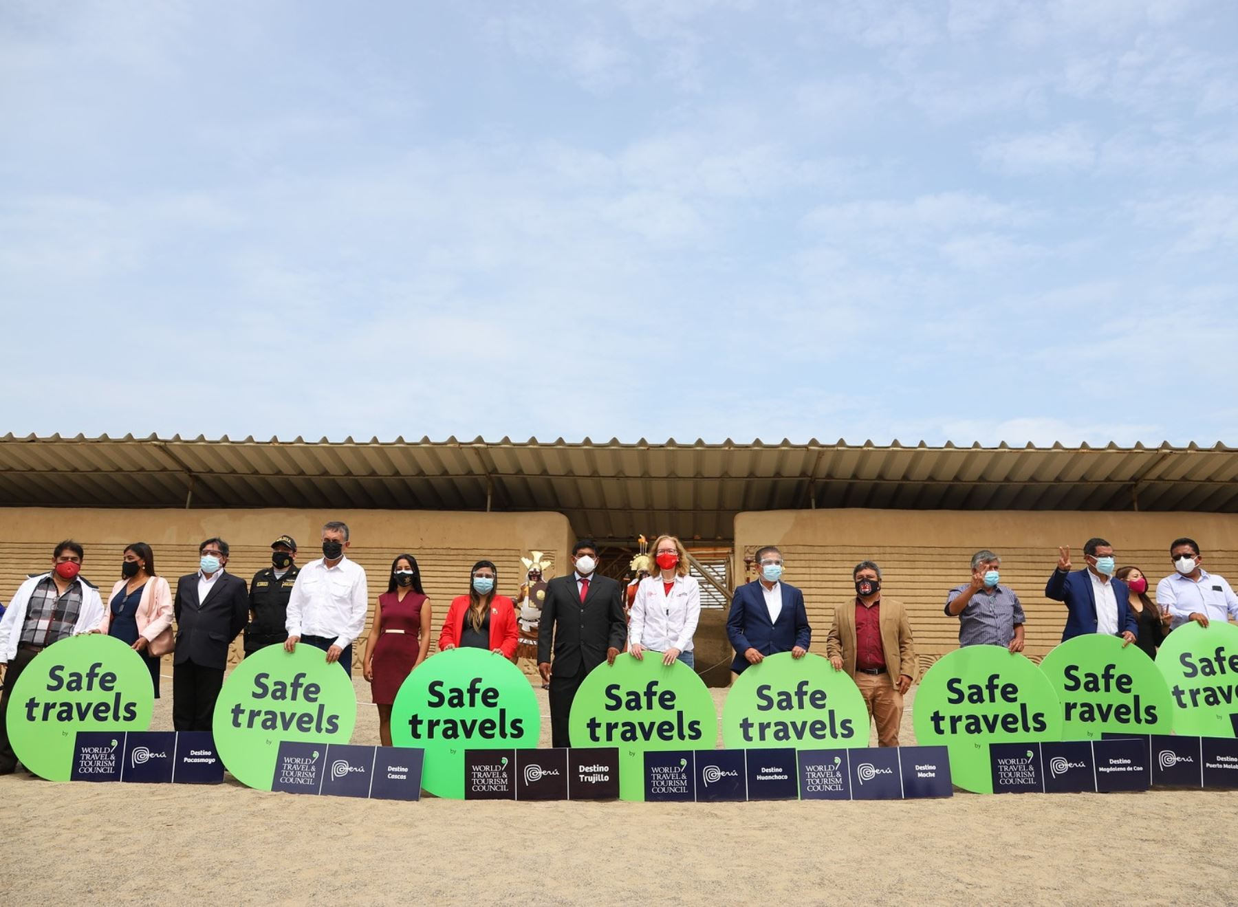 Trujillo, Huanchaco, Malabrigo y otros cinco destinos de La Libertad son ahora destinos seguros para el turismo al recibir el distintivo Safe Travels otorgado por el Mincetur.