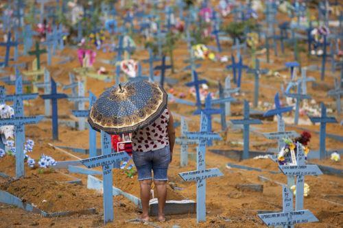 Covid-19: Brasil supera las 430,000 muertes y camina hacia los 15.5 millones de casos