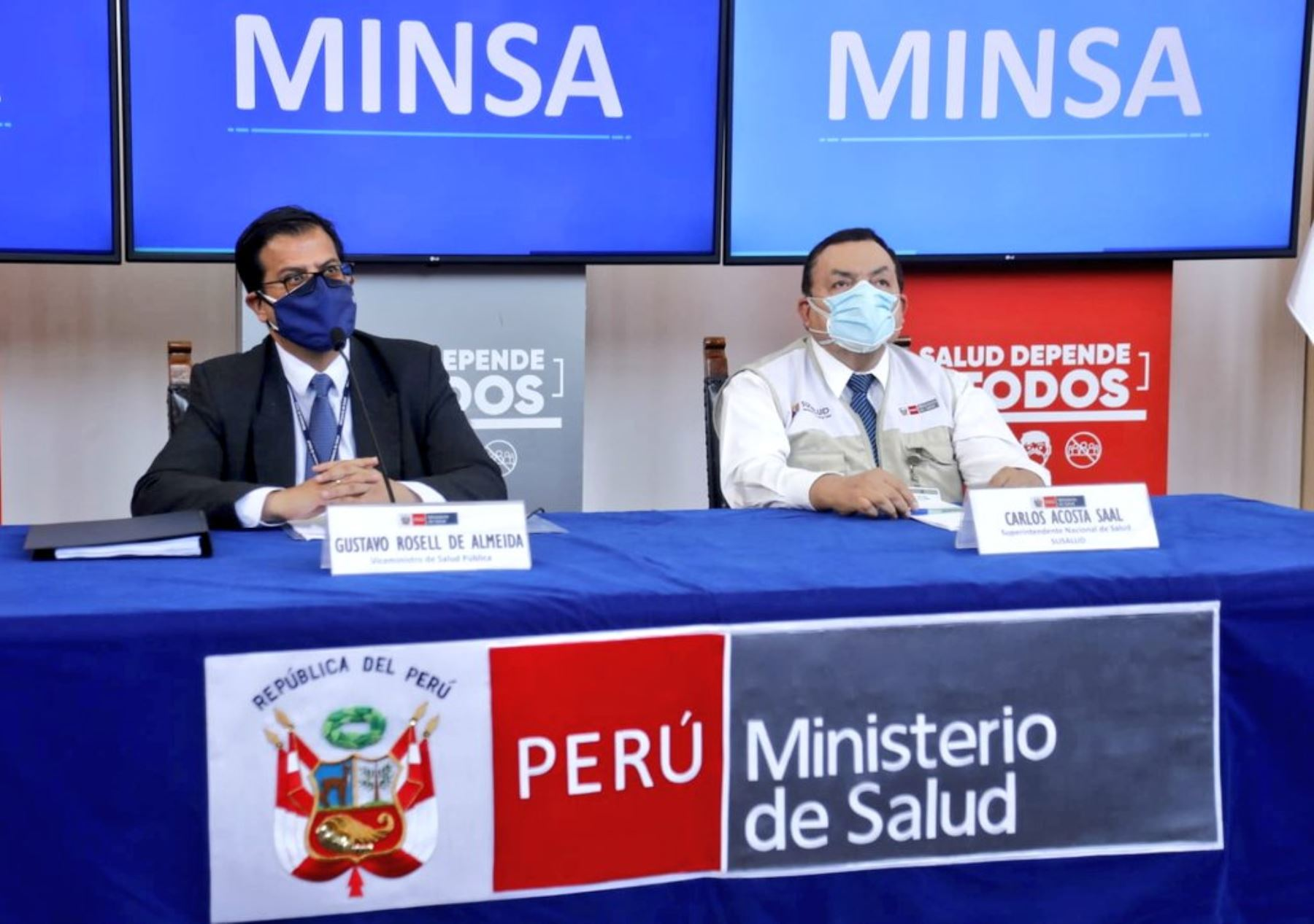 Photo: Twitter/Ministry of Health of Peru