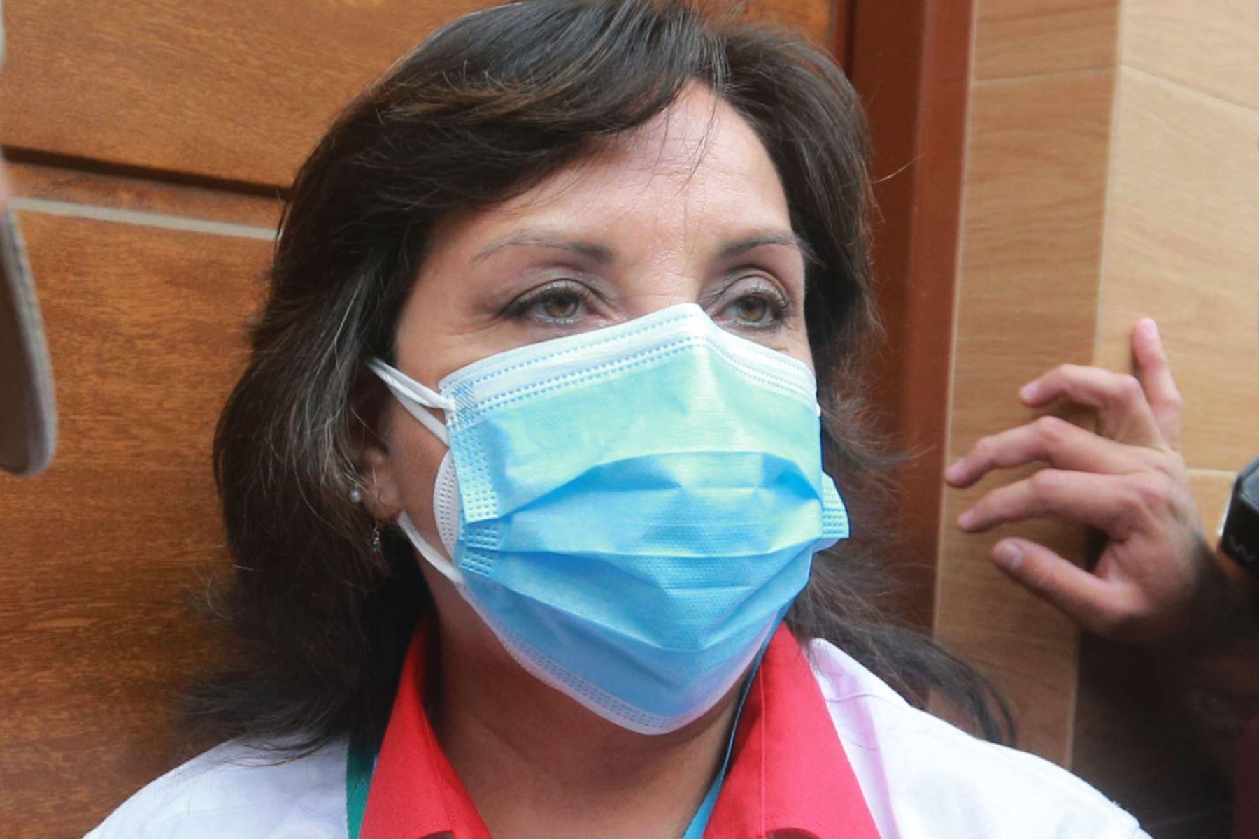Dina Boluarte, candidata a la Vicepresidencia de Perú Libre. ANDINA/Jhony Laurente