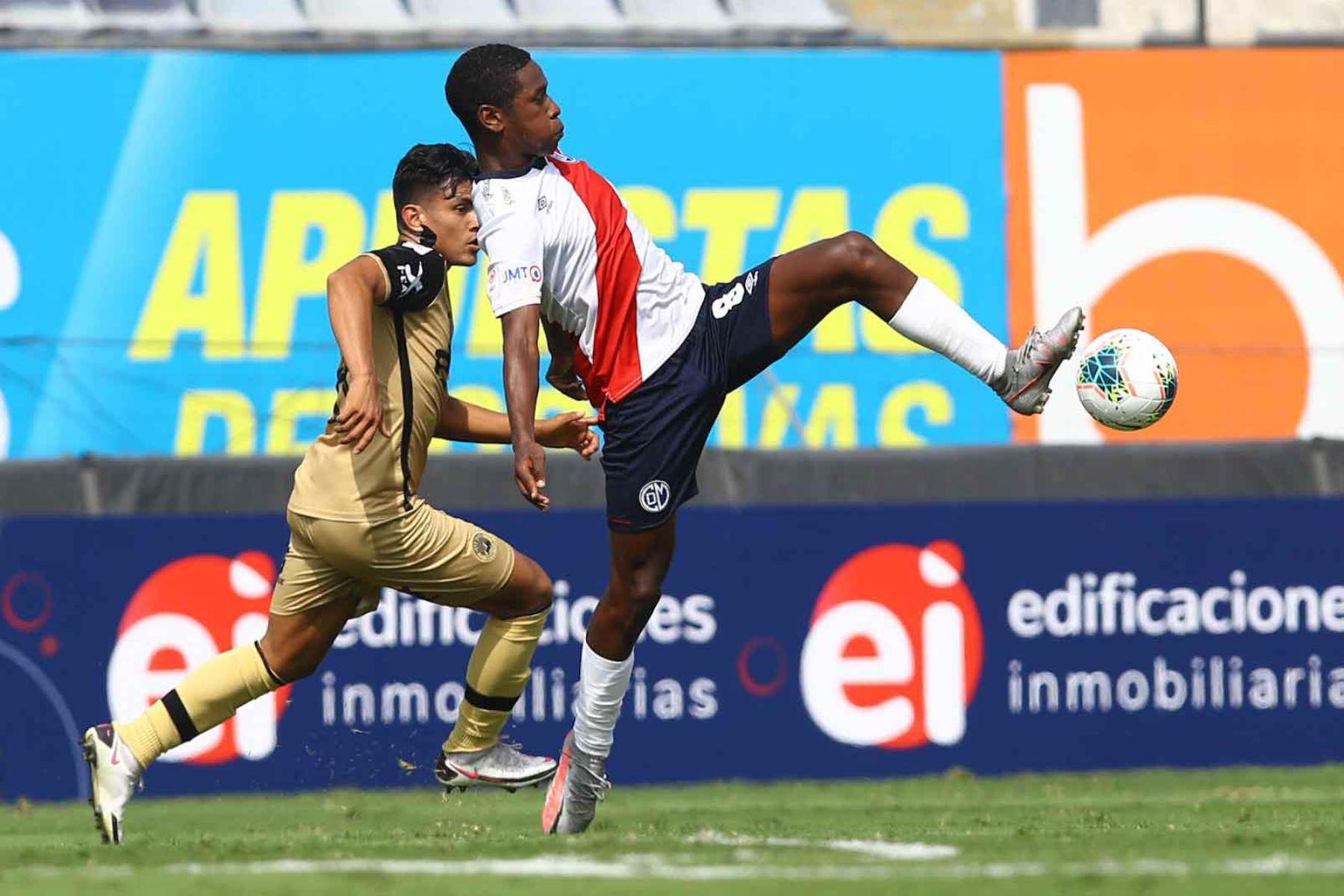 D. Municipal  se enfrenta al F.C Cusco  por la fecha 3 de la Liga 1, en el estadio Iván Elías Moreno.  Foto: Liga 1