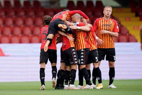 Benevento iguala 1 a 1 ante el  Crotone  por la Liga Italiana