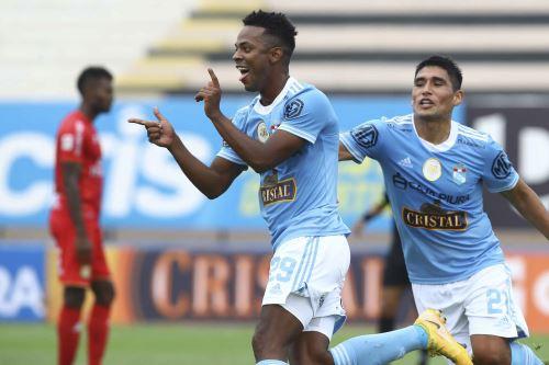 Sporting Cristal gana 1 a 0 a Sport Huancayo por la octava fecha de la Liga 1 en el estadio Miguel Grau del Callao