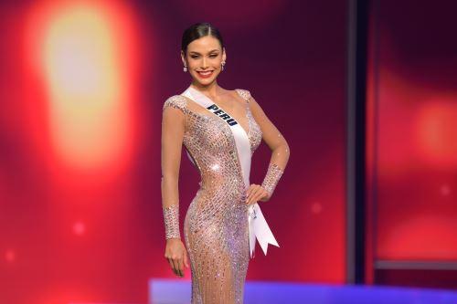 Miss Perú Janick Maceta quedó segunda finalista del Miss Universo 2021
