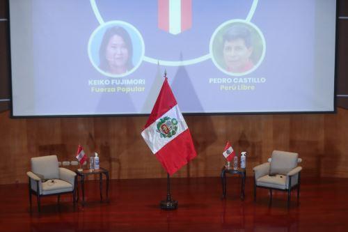 Interiores del Colegio Médico del Perú, donde los candidatos Keiko Fujimori y Pedro Castillo, asumirán el compromiso de la Proclama Ciudadana - Juramento por la Democracia