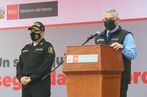 El ministro del Interior, José Elice señaló que   es un hecho histórico para la Policía Nacional. Se está haciendo un importante esfuerzo para dotar a la PNP con los equipos y herramientas necesarias para el cumplimiento de sus funciones. ANDINA/ Mininter