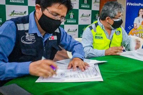 Con la firma de convenio se podrá atender a más personas con necesidad de oxígeno por padecer de la covid-19. Foto: ANDINA/Gore Huánuco