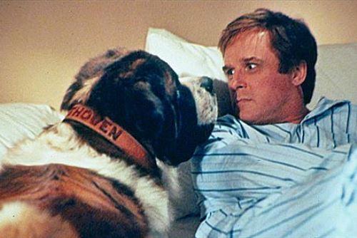 """Fue en la popular comedia """"Beethoven"""", donde compartió cartel en 1992 con un enorme perro San Bernardo, la cinta que lo dio a conocer al gran público. Foto: Internet"""