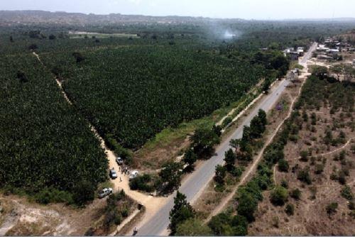 Los trabajos para la construcción de la vía de evitamiento Tumbes demandarán una inversión que bordea los S/ 363 millones. Foto: ANDINA/MTC