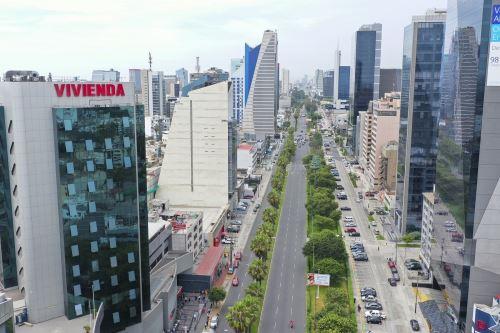 Centro financiero de Lima. Foto: ANDINA/difusión.