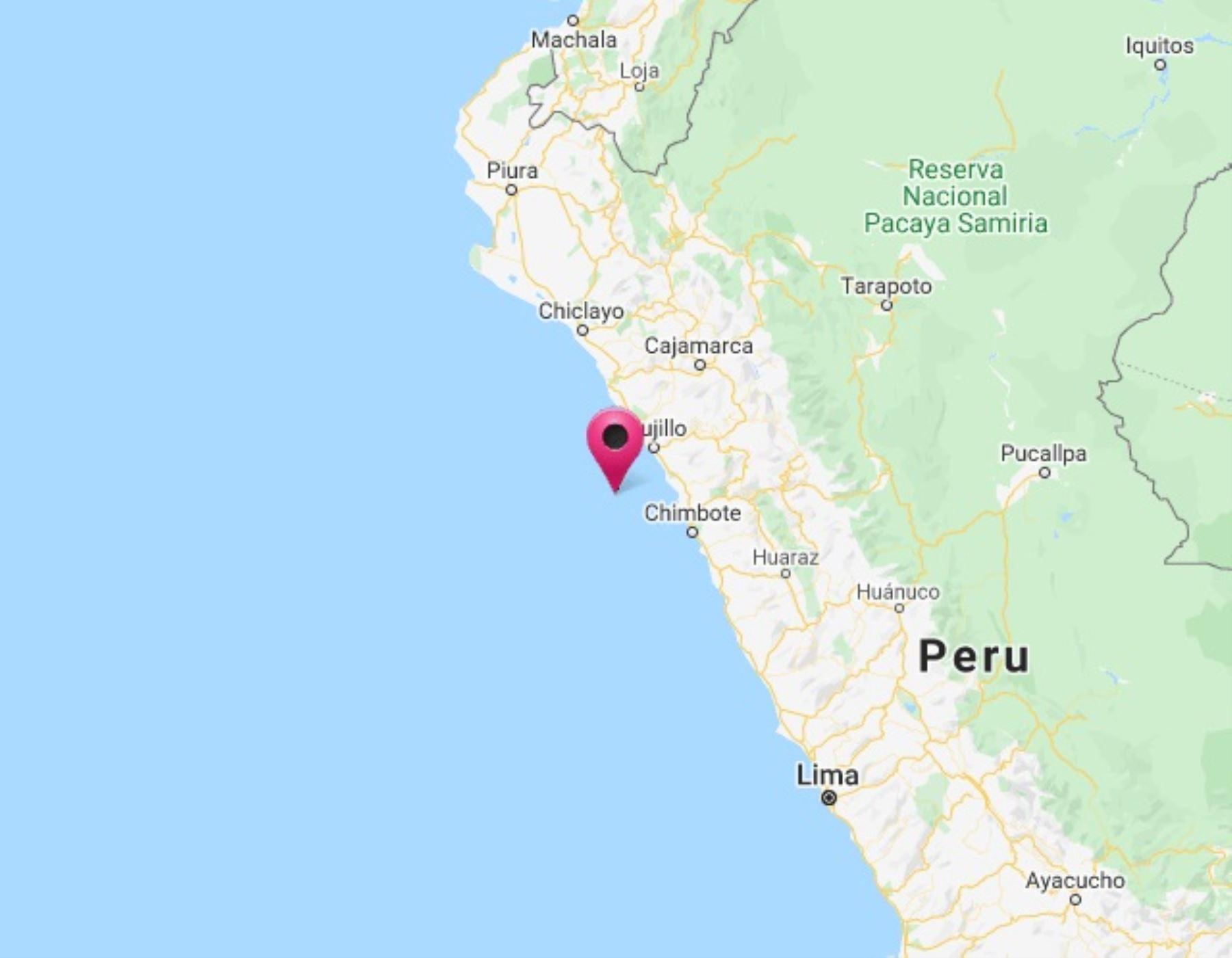 A las 19:32 horas ocurrió el primero de tres sismos registrados en la provincia de Trujillo, región La Libertad. Foto: ANDINA/Difusión