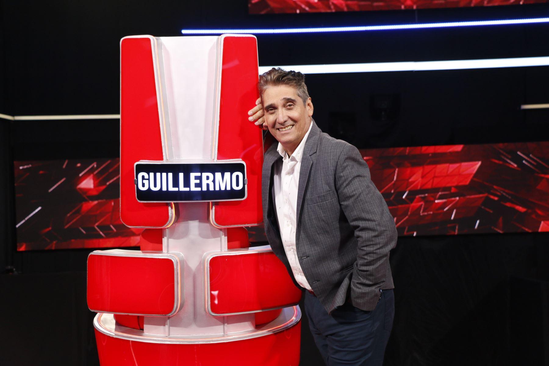 Guillermo Dávila vuelve al Perú para espacio de TV.