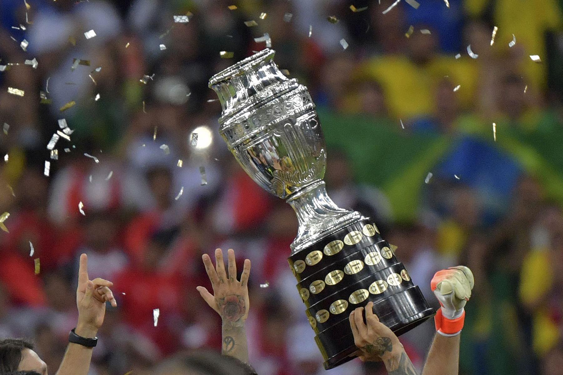 Ramos explicó que el gobierno brasileño ha puesto varias condiciones a la Confederación Brasileña de Fútbol (CBF) para la realización del torneo. Foto: AFP