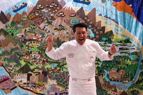 Luis Enrique Serván, chef peruano reconocido en Alemania.
