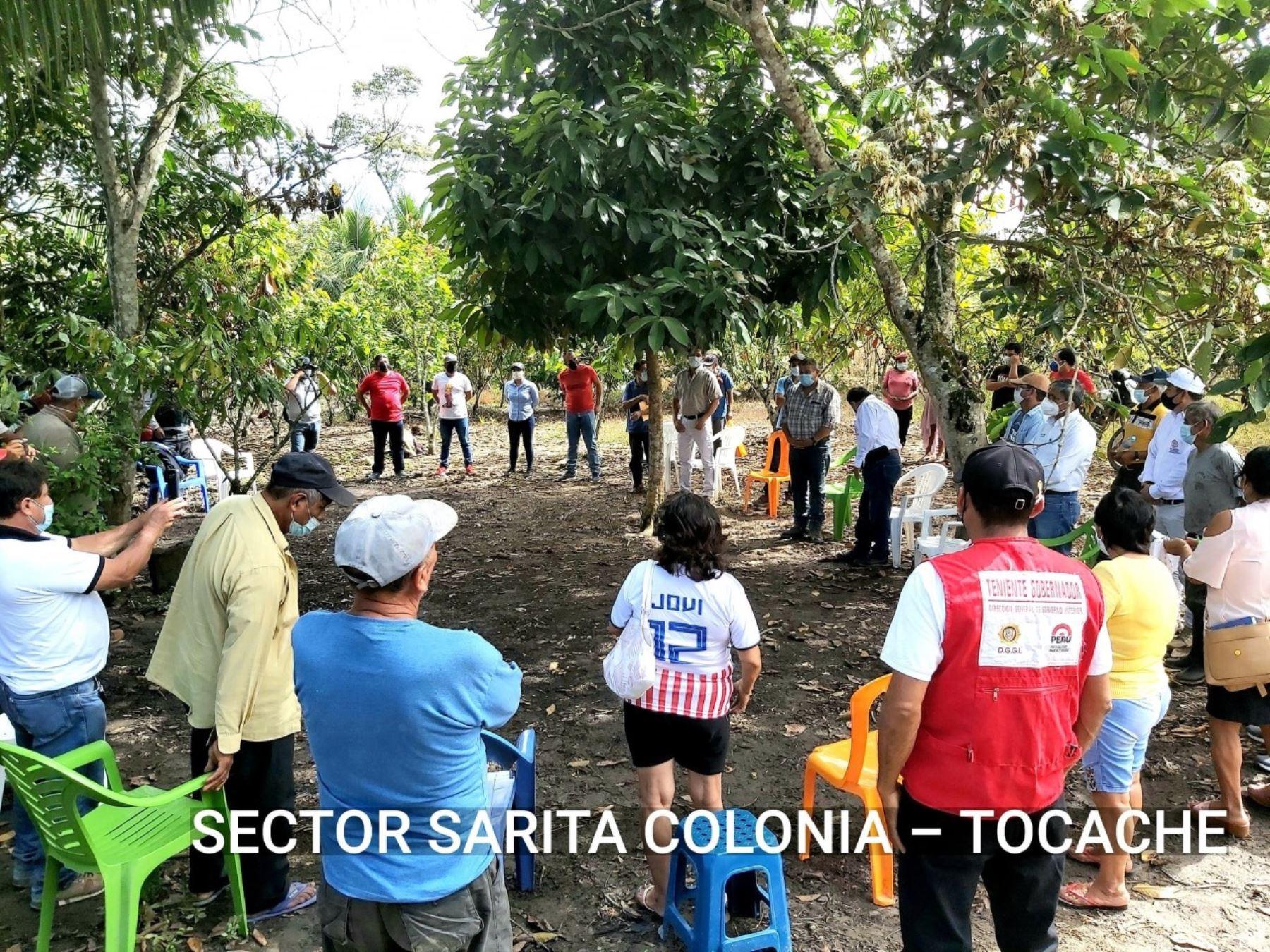 San Martín: ponen en marcha catastro para titulación de 90,000 predios en zona sur.