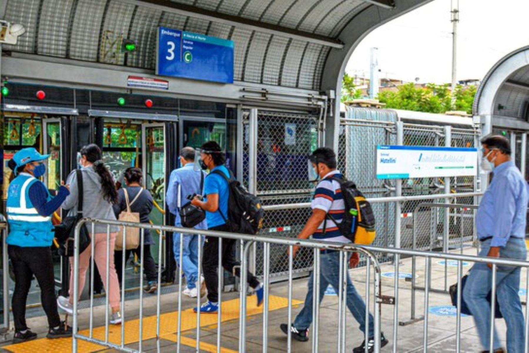 Segunda vuelta: conoce los horarios que tendrá el transporte público este domingo. Foto: ANDINA/Difusión.