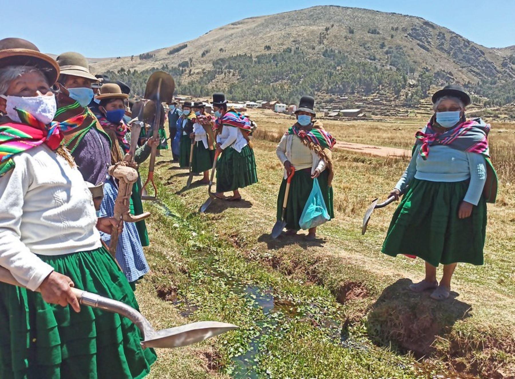 Midagri: promueven participación igualitaria de hombres y mujeres en la gestión del agua