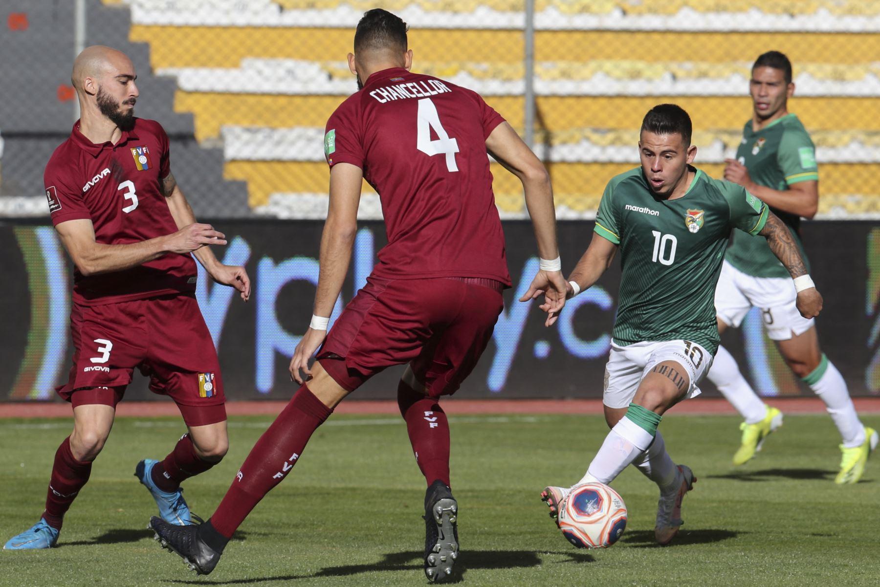 Bolivia visitará Chile en la segunda jornada de esta fecha doble de Las Eliminatorias. Foto de archivo: AFP
