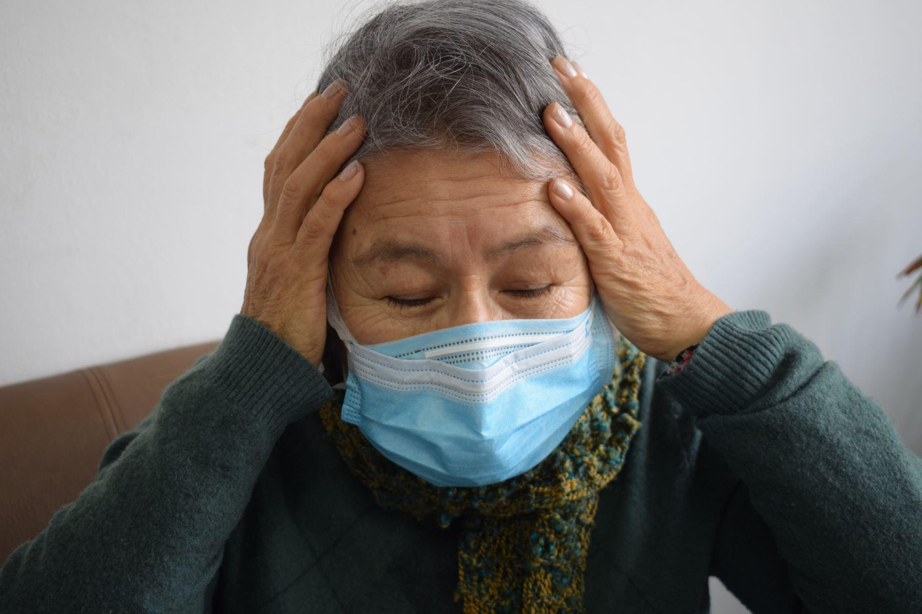 Otra pandemia, conformada por los traumas psíquicos, es consecuencia de la crisis del coronavirus. Foto: ANDINA/difusión.