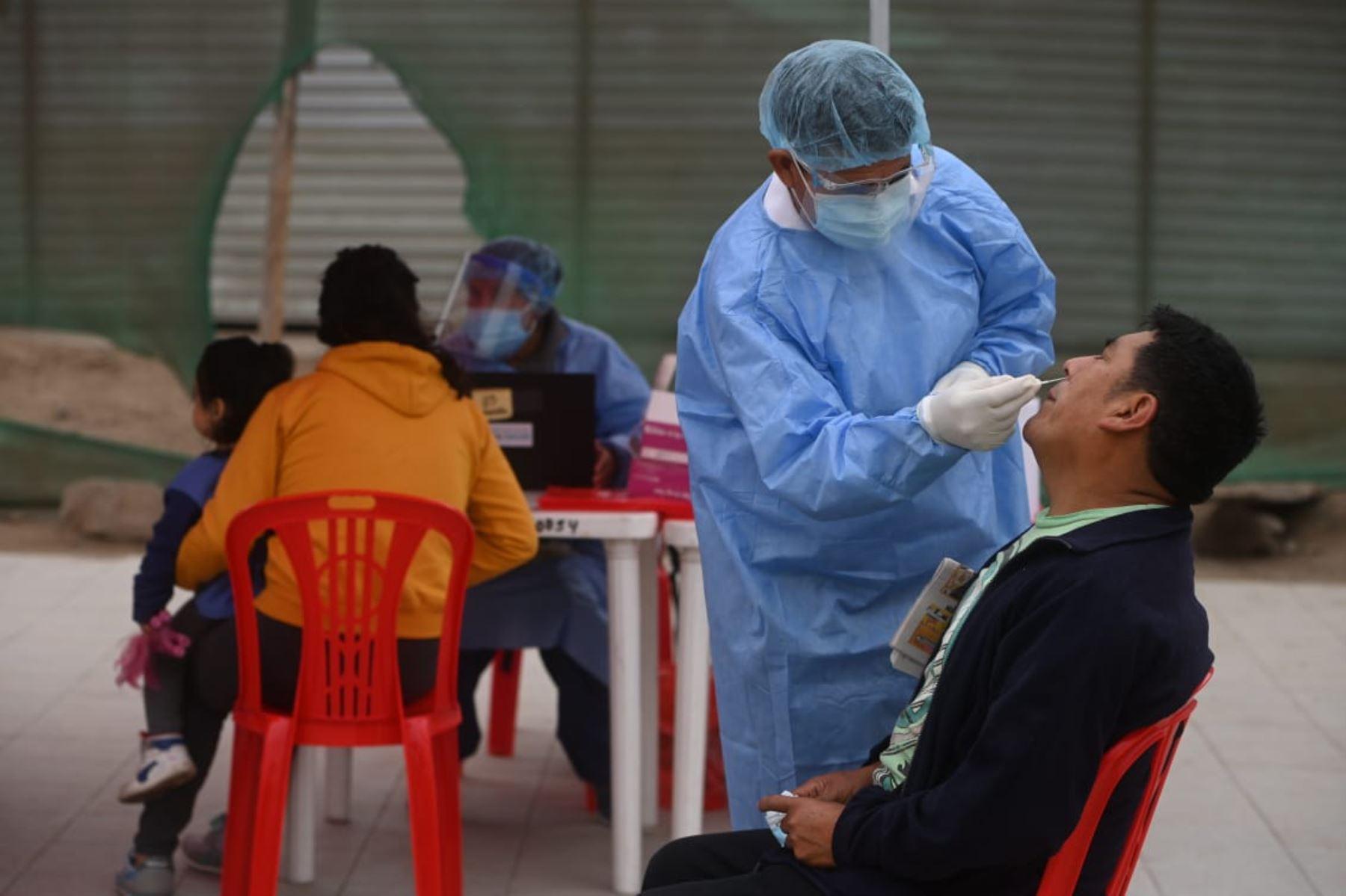 Realizarán campaña de despistaje de covid-19 en San Martin de Porres, Chosica y Pucusana
