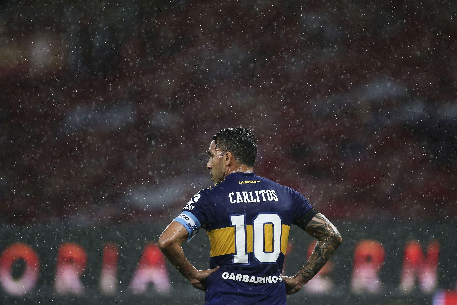 Tevez tiene contrato en Boca hasta diciembre de 2021, pero una cláusula le permite terminar su relación contractual seis meses antes. Foto: AFP