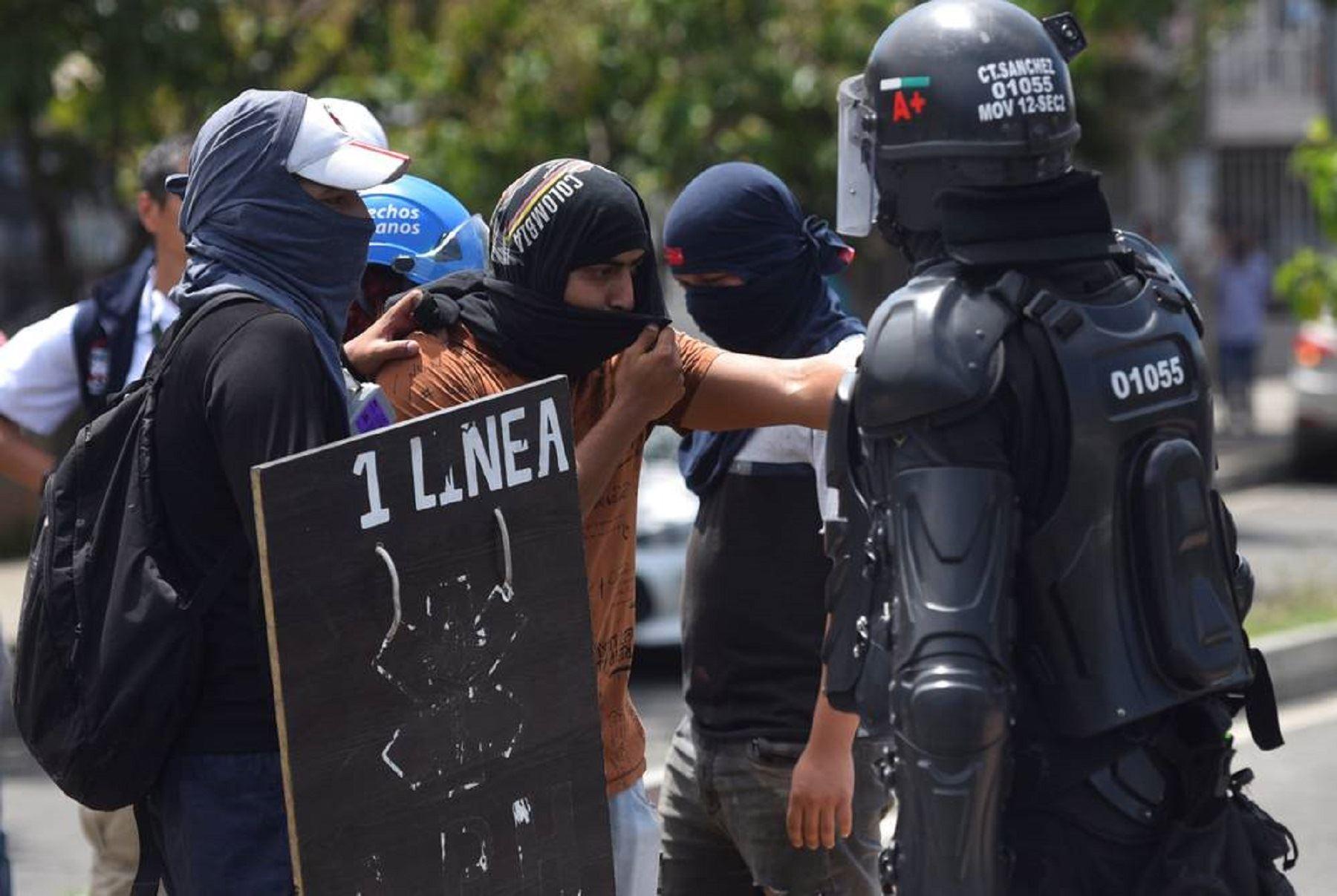 Colombia: nuevos disturbios en Cali dejan dos civiles muertos y cuatro policías heridos. Foto: difusión.