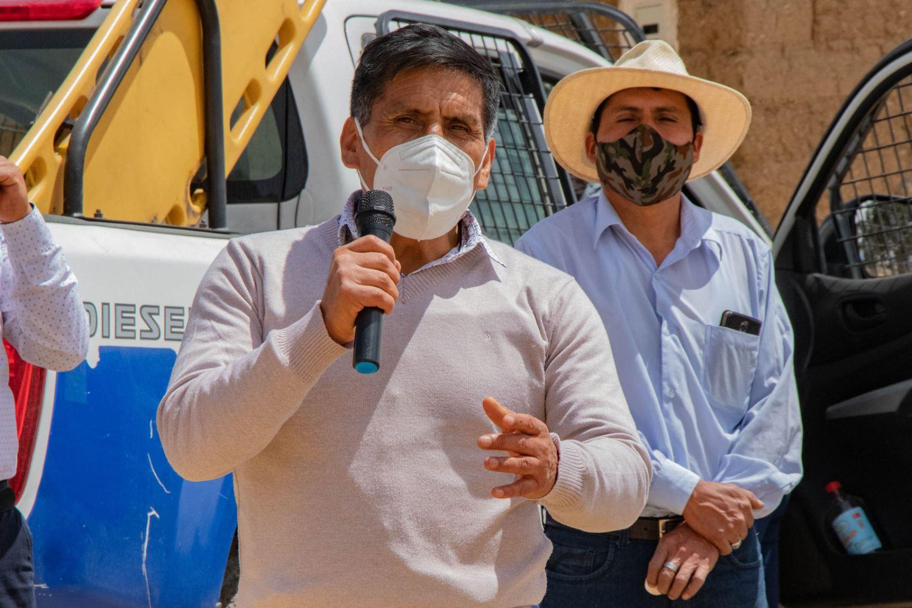 Tras cerca de 20 días de ausencia en la comuna provincial de Huaraz, el alcalde Rori Mautino se reincorporó a sus funciones. Foto: Cortesía Gonzalo Horna