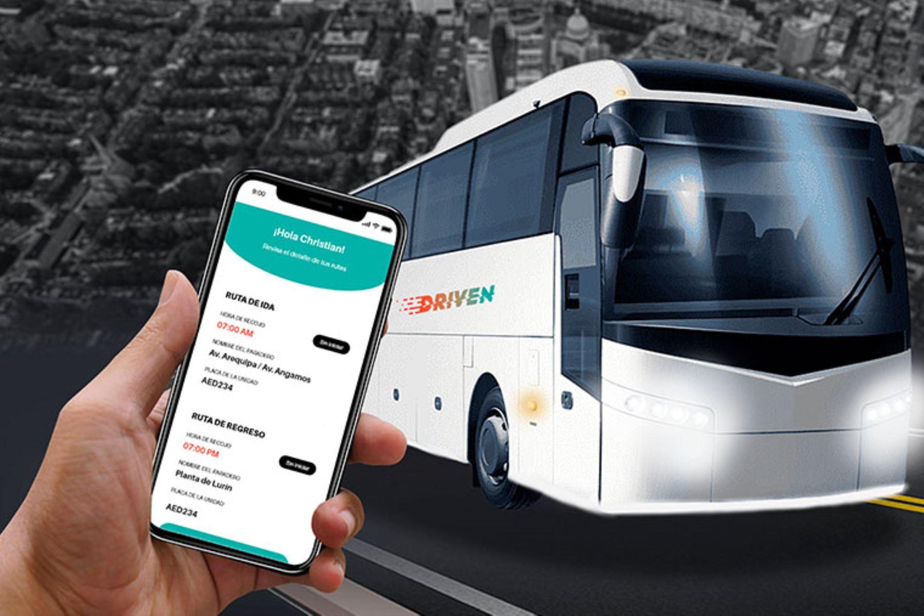 Driven usa tecnología para que los colaboradores puedan rastrear al conductor en tiempo real y comunicarse con él