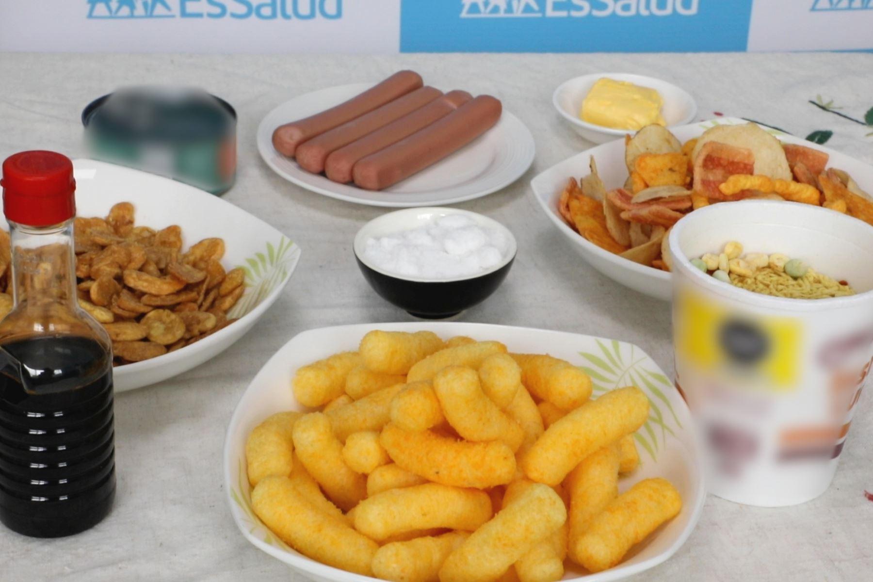 ¡Cuidado! Consumo excesivo de sal intensifican daños de las enfermedades crónicas. Foto: ANDINA/Difusión.