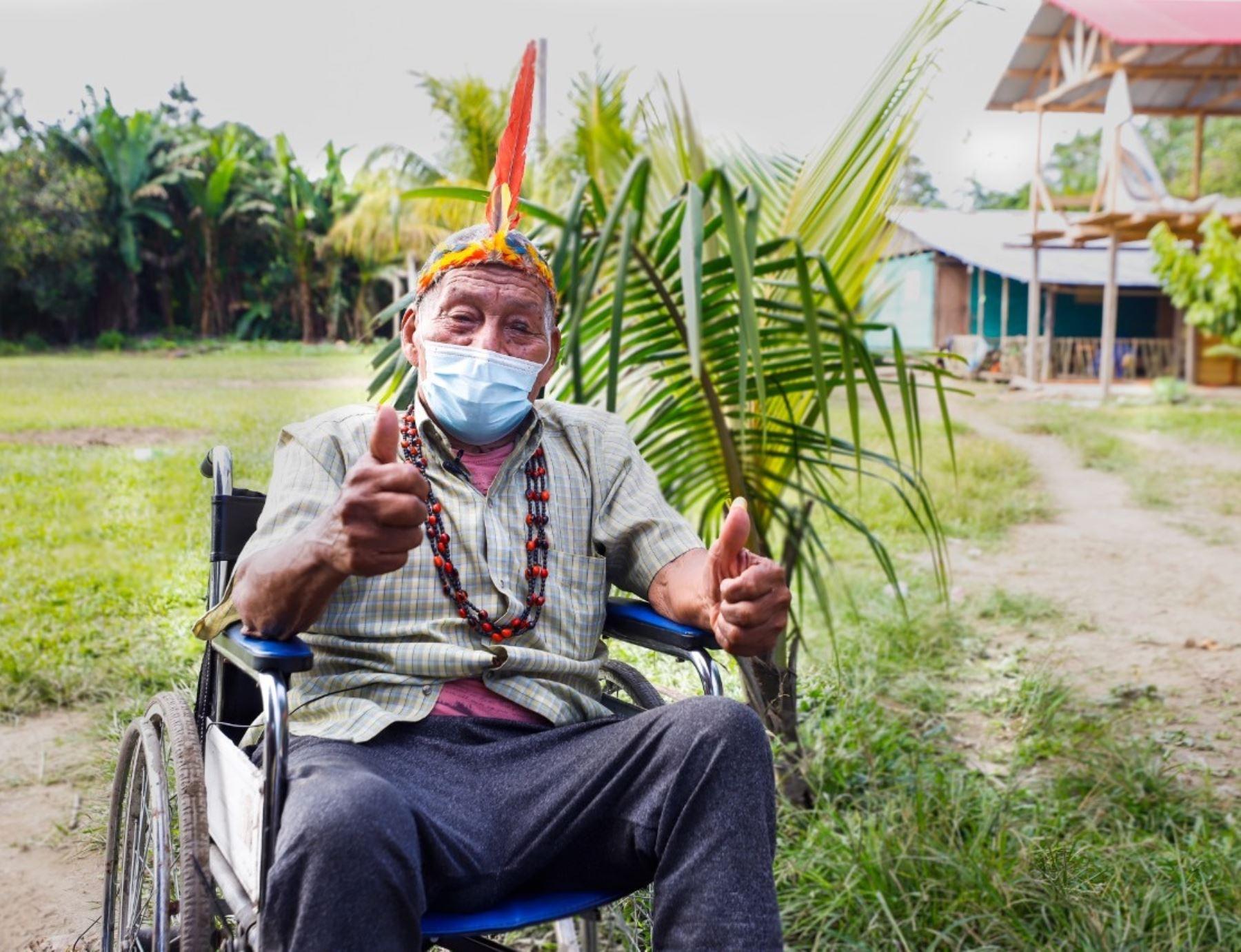 Conoce cómo el Ministerio de Cultura informa a los pueblos indígenas sobre la importancia de la vacunación contra la covid-19. ANDINA/Difusión