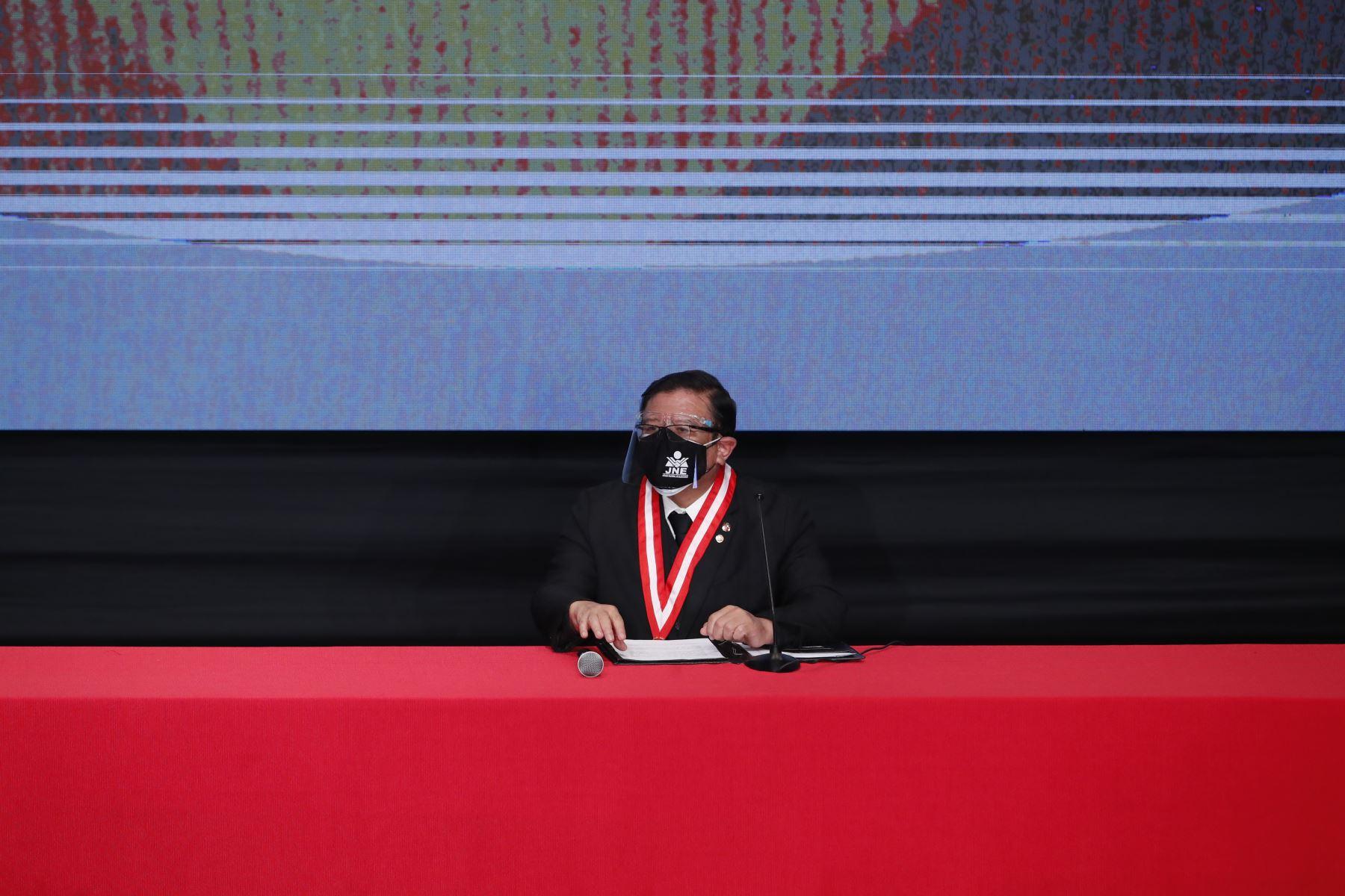 Ceremonia de entrega de credenciales a los congresistas electos 2021. Foto: ANDINA/Juan Carlos Guzmán