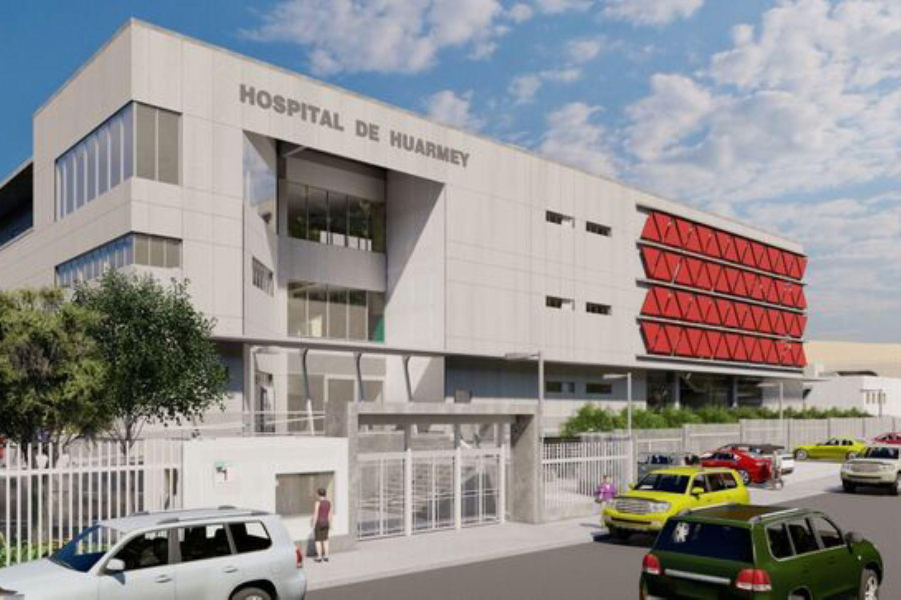 La construcción del nuevo hospital de Huarmey se desarrollará sobre un terreno de 11,325 metros cuadrados. Foto: ANDINA/Pronis