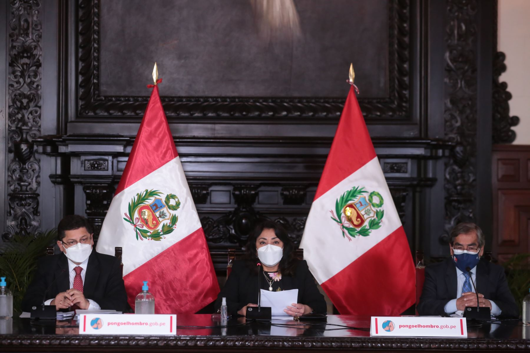 Photo: ANDINA/Presidency of the Council of Ministers